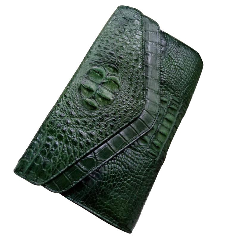 Túi đeo da cá sấu cao cấp