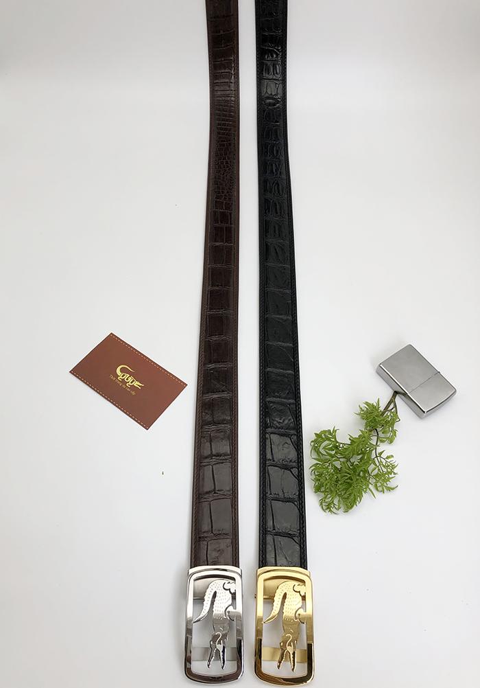 Dây nịt da cá sấu cao cấp nhập khẩu- TCFL35