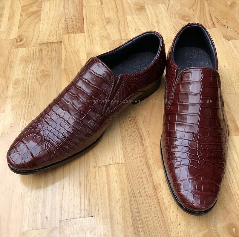 Giày da cá sấu hàng hiệu cao cấp - GCCL412