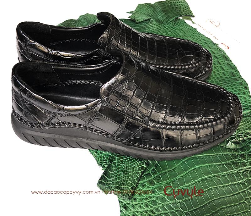 Giày Da Cá Sấu Hàng Hiệu GCC39HM