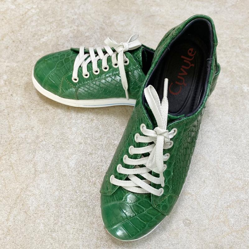 Giày nữ da cá sấu cao cấp GBCA