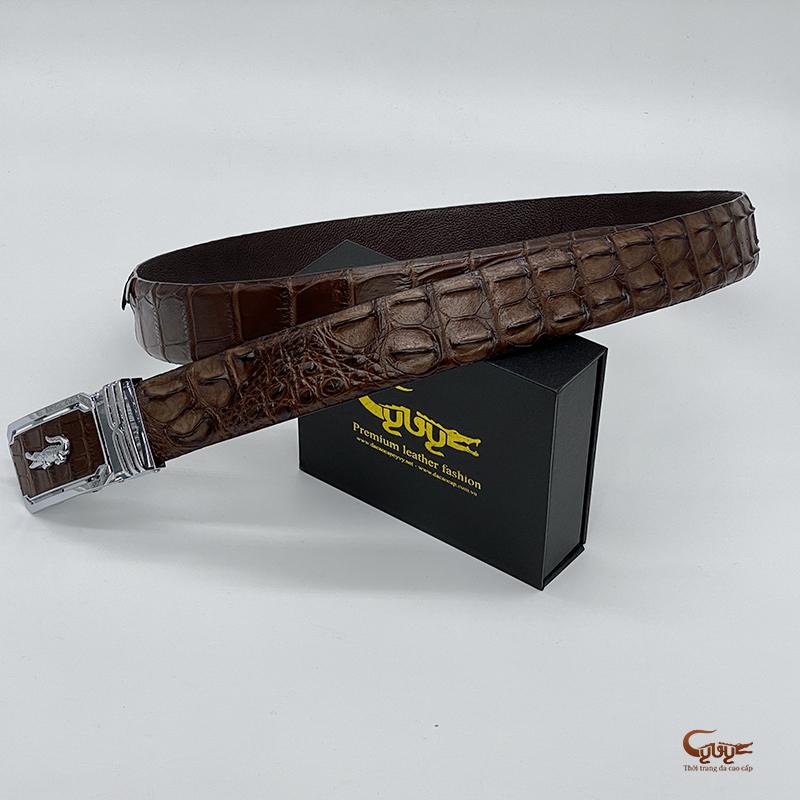 Thắt lưng da cá sấu bản 4cm - TC402TK