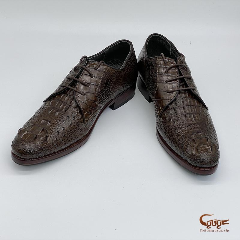 Giày da cá sấu cao cấp - GC-01BD