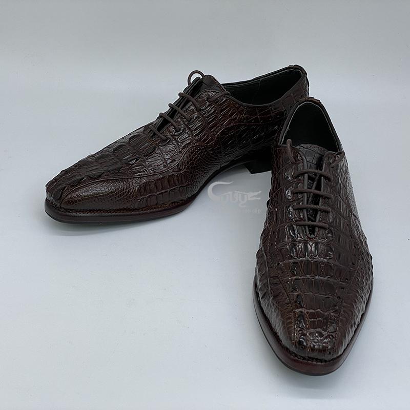 Giày da cá sấu cao cấp GC-02