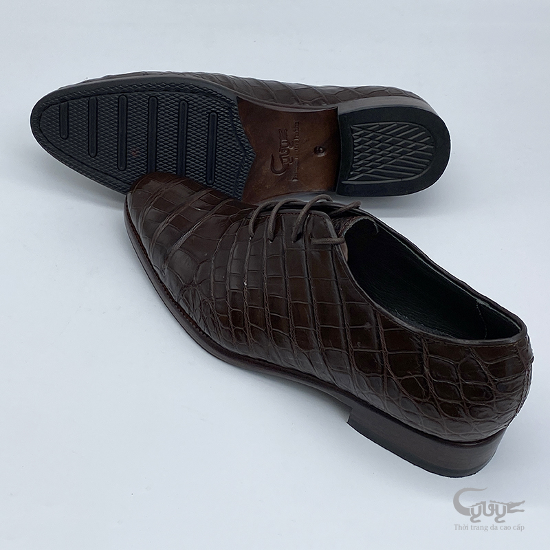 Giày da cá sấu cao câp GC-08D