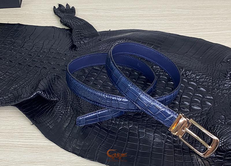 Thắt lưng da cá sấu - Thời trang sang trọng cho phái nữ