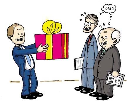 Cách chọn quà để tặng sếp