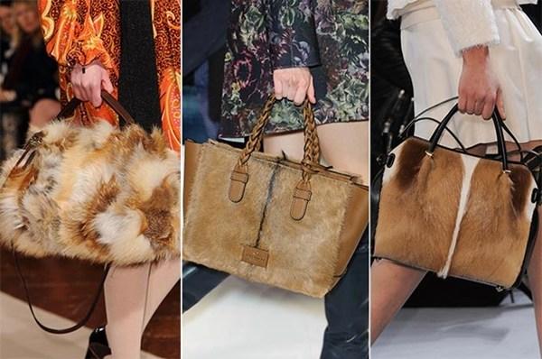 Xu hướng thời trang túi xách mùa đông!