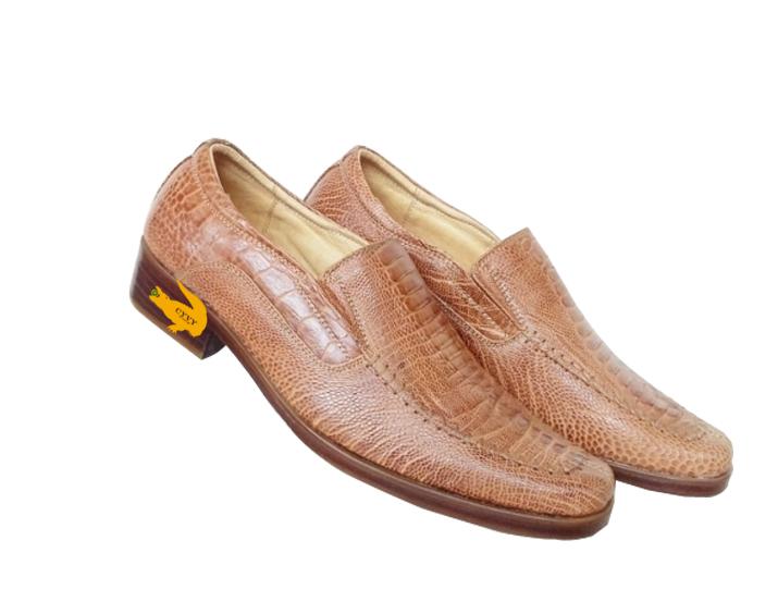 Giày nam da đà điểu cyvy