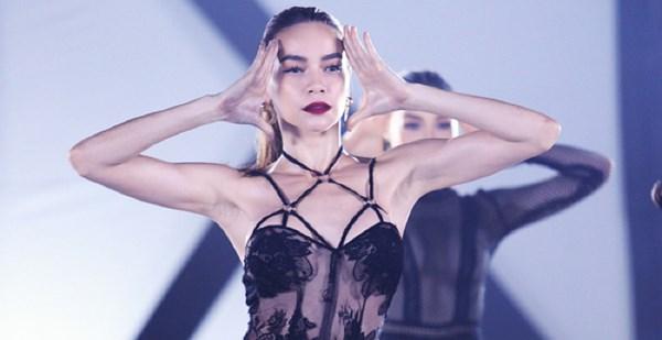 Hồ ngọc hà ngày càng chuộng thời trang hở bạo - 2