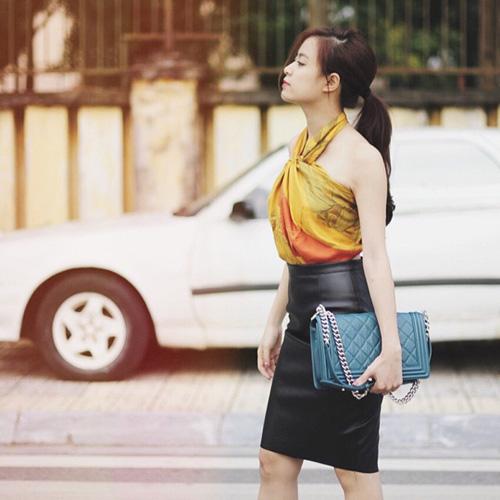Phong cách thời trang dạo phố cực chất của hoàng thùy linh - 5