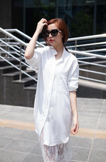 Phong cách thời trang dạo phố cực chất của hoàng thùy linh - 7