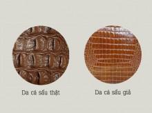 8 cách phân biệt da cá sấu thật hay giả