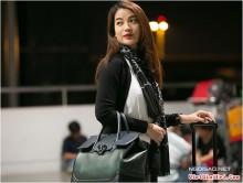 Trương Ngọc Ánh diện xách túi 50 triệu đi công tác