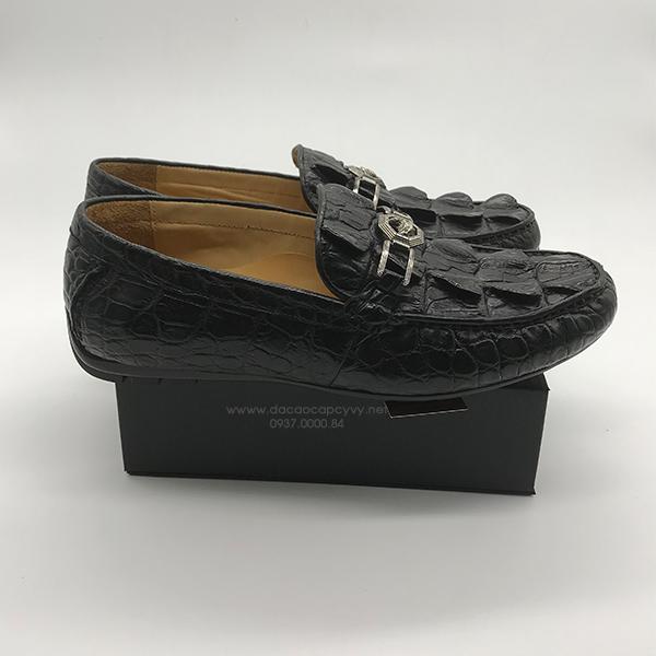 giày nam da cá sấu cao cấp - 2