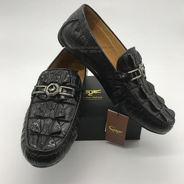giày nam da cá sấu cao cấp - 3
