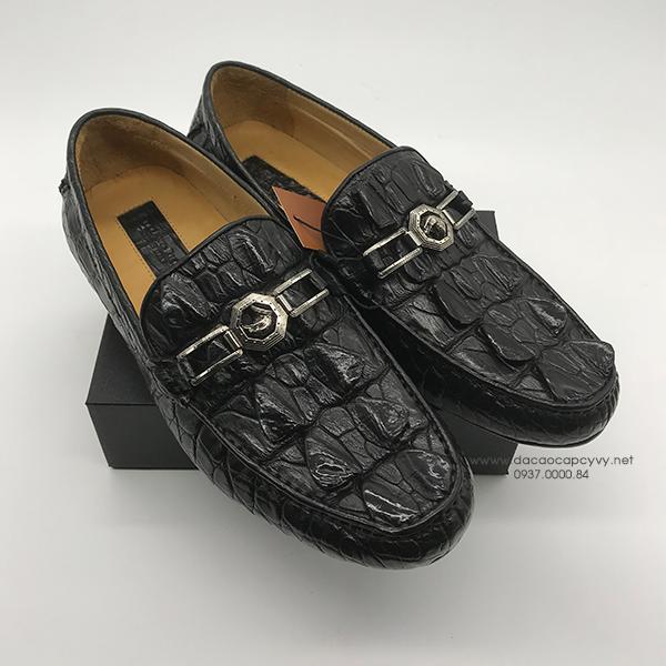 giày nam da cá sấu cao cấp - 4