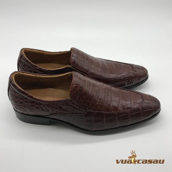 Giày da cá sấu kiểu italy - 1