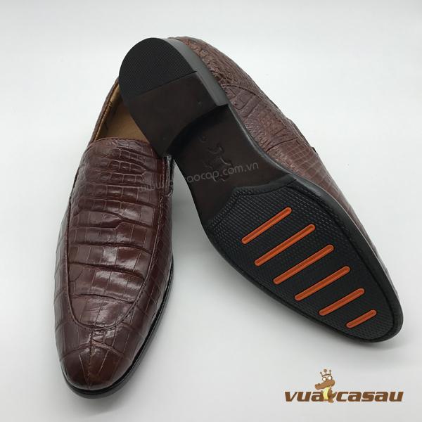 Giày da cá sấu kiểu italy - 3