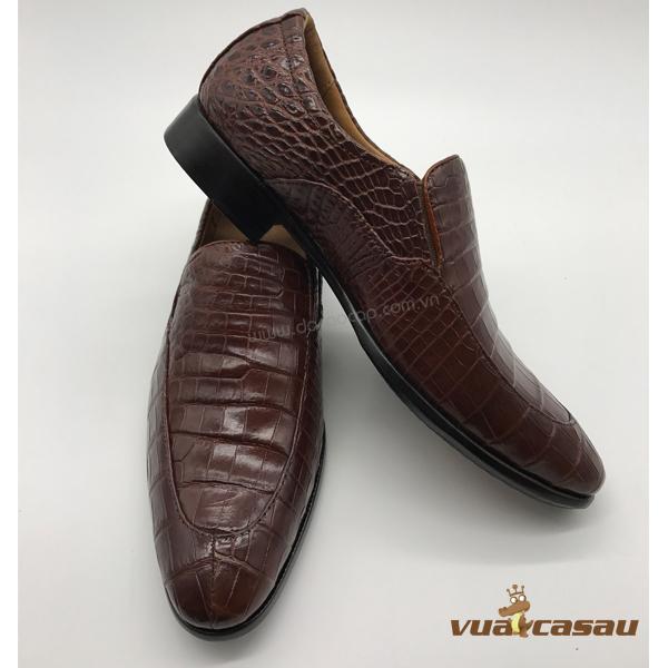 Giày da cá sấu kiểu italy - 4