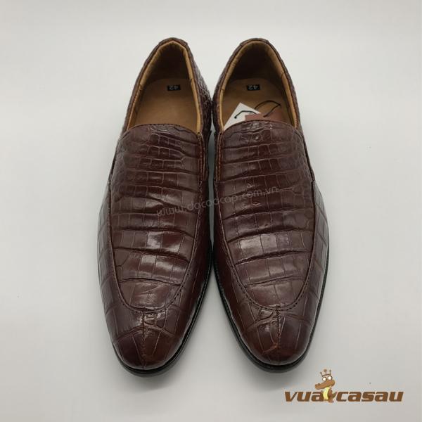 Giày da cá sấu kiểu italy - 5