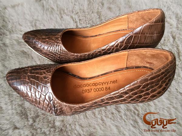 Bán giày nữ da cá sấu xịn đẹp nhất 2016 - 6
