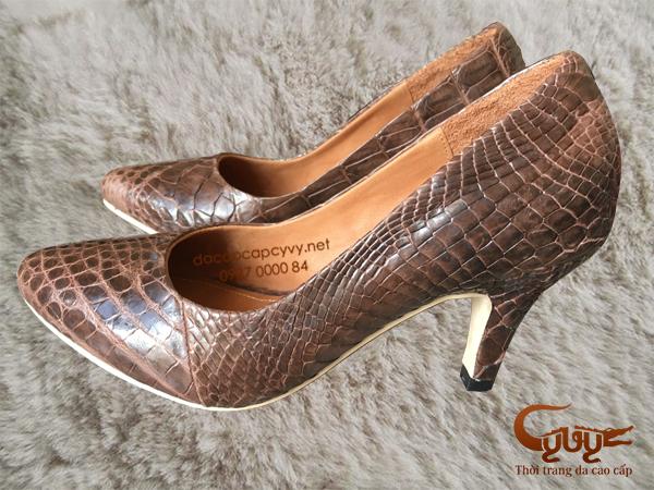 Bán giày nữ da cá sấu xịn đẹp nhất 2016 - 4