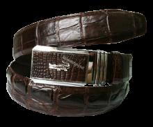 Thắt lưng da cá sấu đen