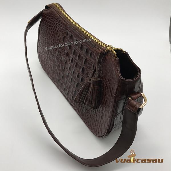 Túi xách da cá sấu cao cấp cyvy - 1