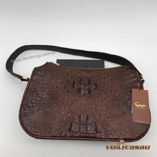 Túi xách da cá sấu cao cấp cyvy - 2