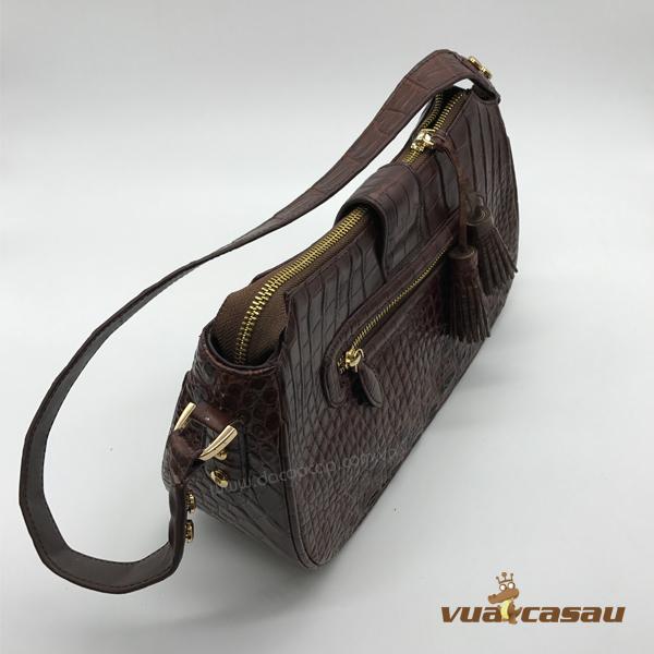 Túi xách da cá sấu cao cấp cyvy - 3